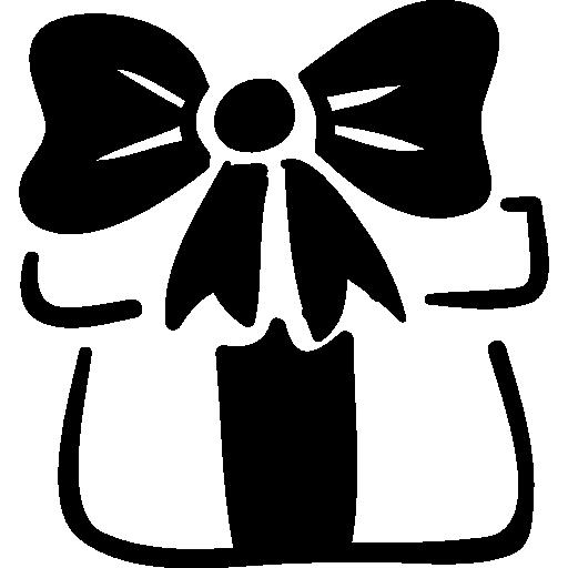 Christmas present box  free icon