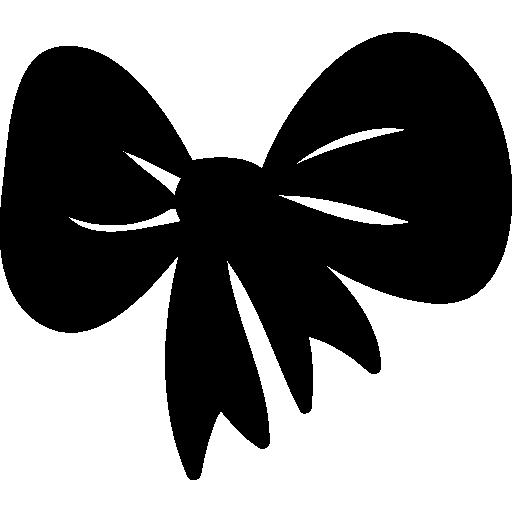 Christmas ribbon  free icon