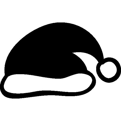 chapeau de père noël  Icône gratuit