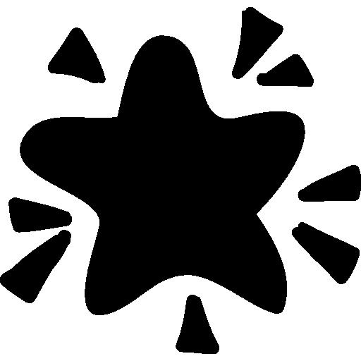 Shine Star  free icon