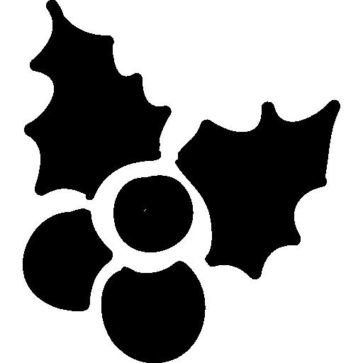 Mistletoe drawing  free icon
