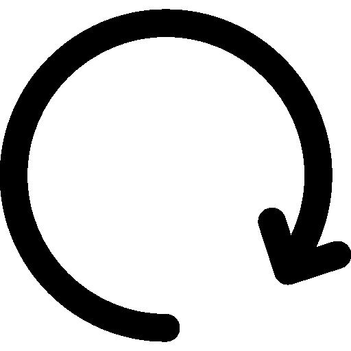 Update arrow  free icon