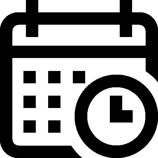 Календарь  бесплатно иконка