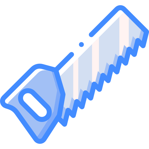 scie à main  Icône gratuit