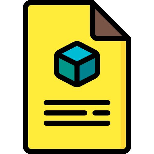 document d'impression 3d  Icône gratuit