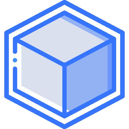 cube d'impression 3d  Icône gratuit