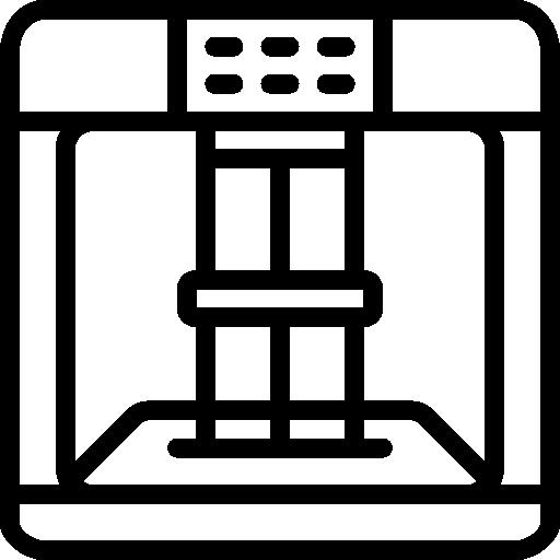 scanner d'impression 3d  Icône gratuit