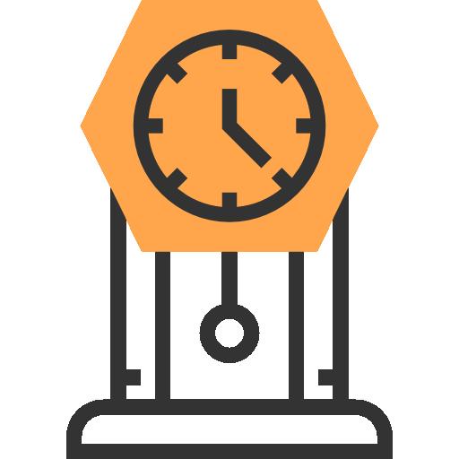 Настольные часы  бесплатно иконка