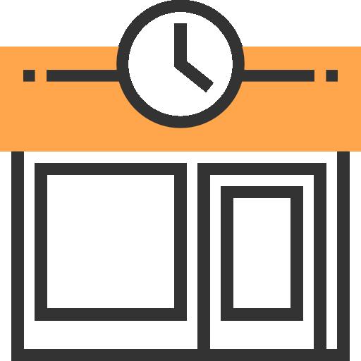 Магазин часов  бесплатно иконка