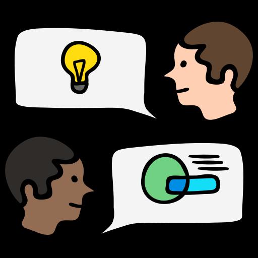 Обсуждение  бесплатно иконка