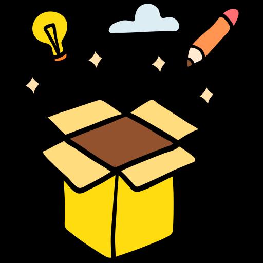 Creativity  free icon