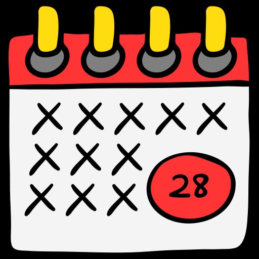 date limite  Icône gratuit