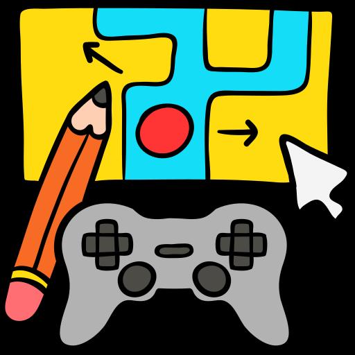 desarrollo de juegos  icono gratis