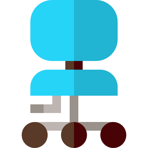 chaise de bureau  Icône gratuit