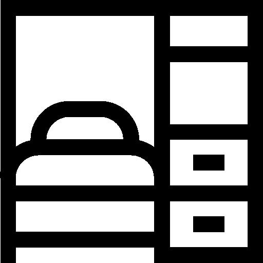 lit escamotable  Icône gratuit