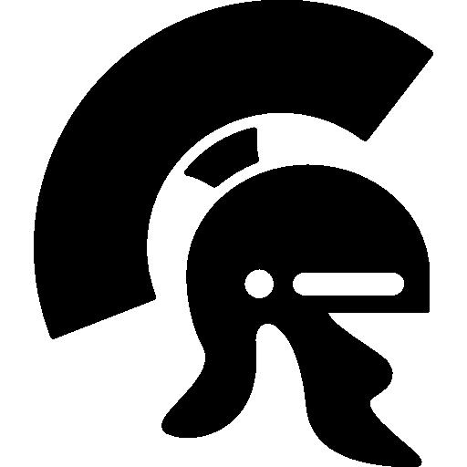 Roman helmet  free icon