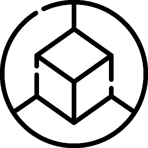 3d würfel  kostenlos Icon