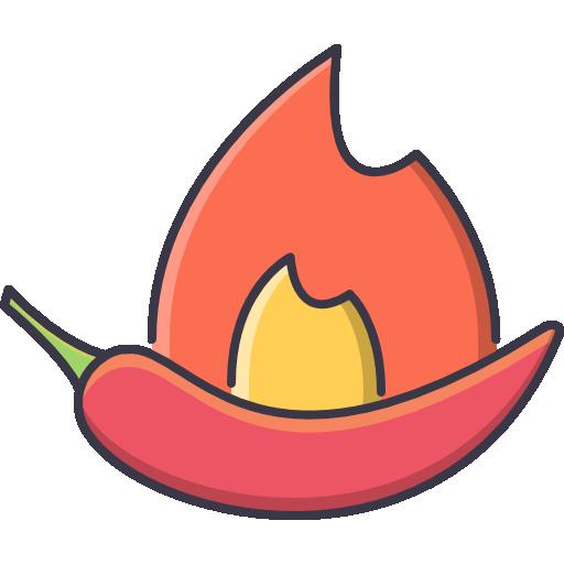 Острый перец  бесплатно иконка