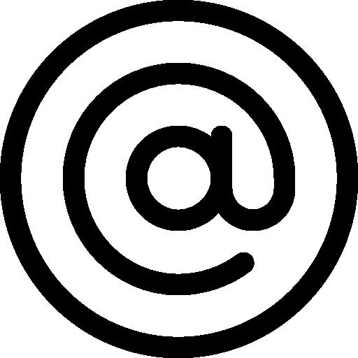 Arroba  free icon