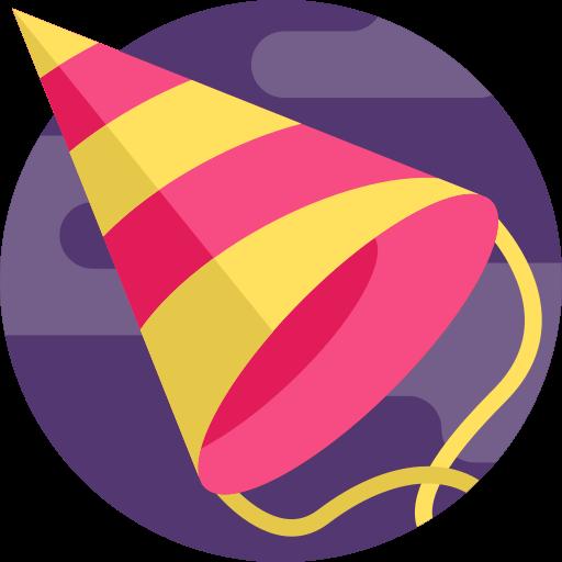 chapeau de fête  Icône gratuit