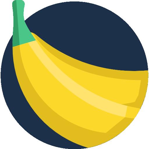 Banana  free icon