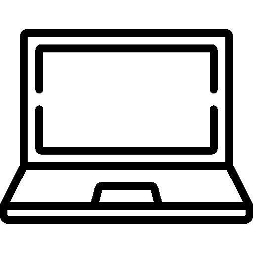 ordenador portátil  icono gratis