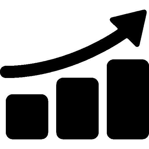 Graphic Progression  free icon