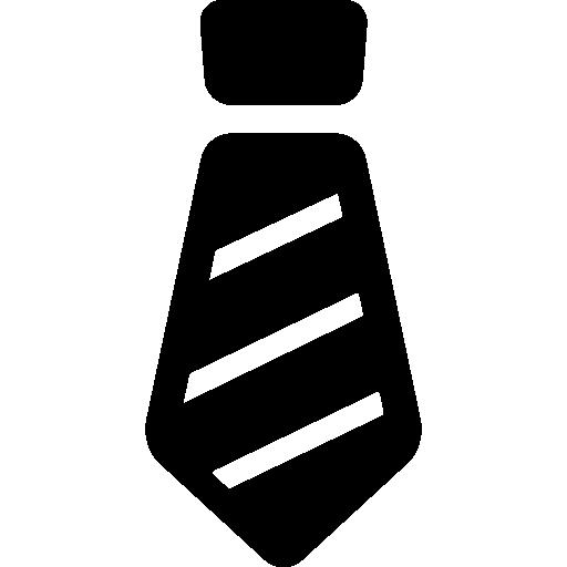 Stripped Tie  free icon