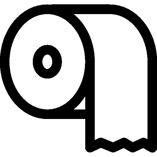 Toilet Paper  free icon