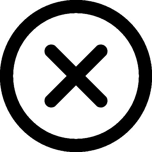 Delete Button  free icon