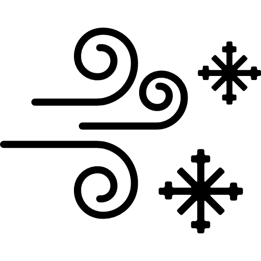 Снег и ветер  бесплатно иконка