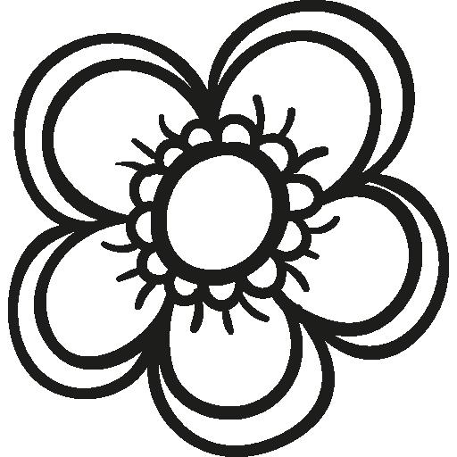 flor de jardín de primavera  icono gratis