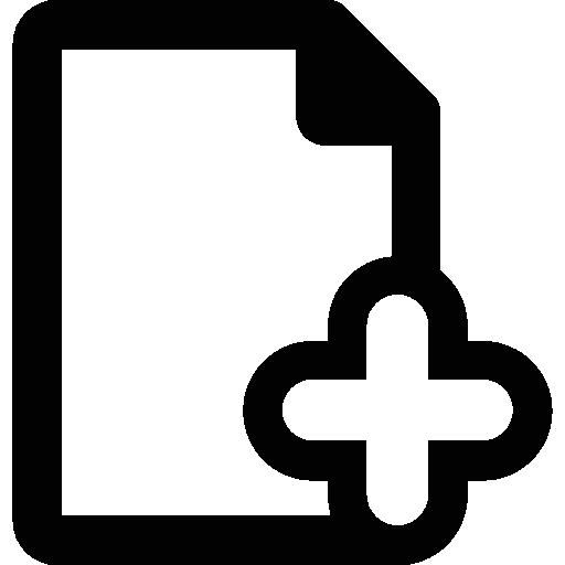 seite hinzufügen  kostenlos Icon