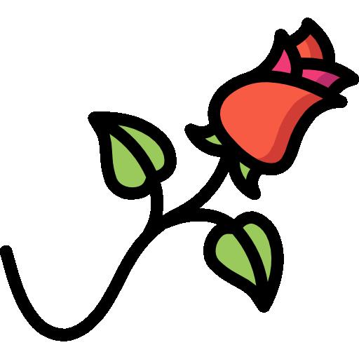 rosa  icono gratis