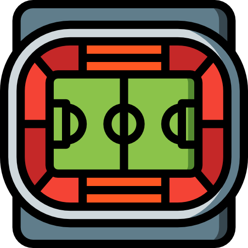 campo de fútbol  icono gratis