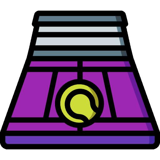 pista de tenis  icono gratis