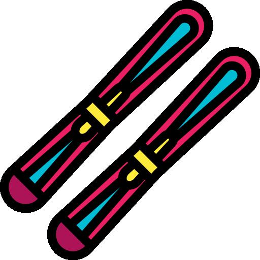 esquí  icono gratis