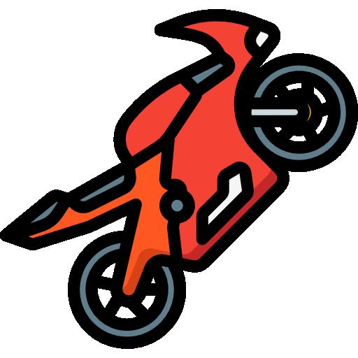 moto  Icône gratuit