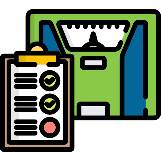Weight  free icon