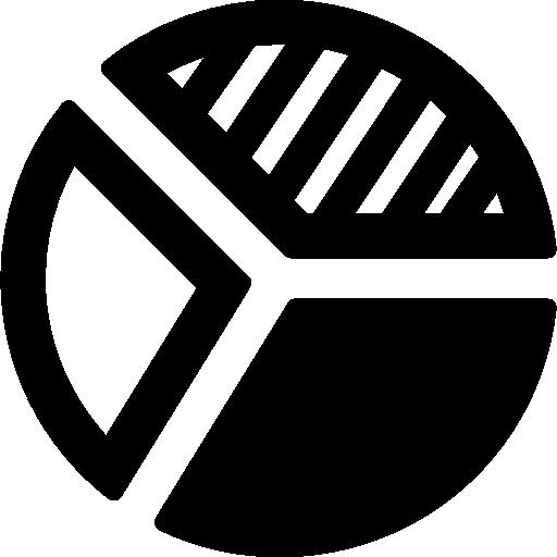 Pie Chart Stats  free icon