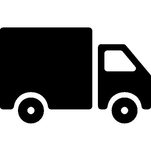 camión de carga  icono gratis
