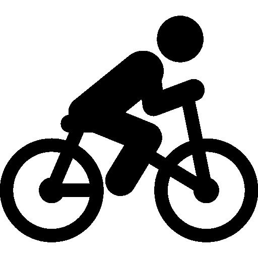 ciclista  icono gratis