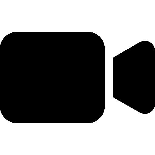 camara de video  icono gratis