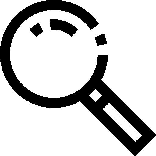 확대경  무료 아이콘