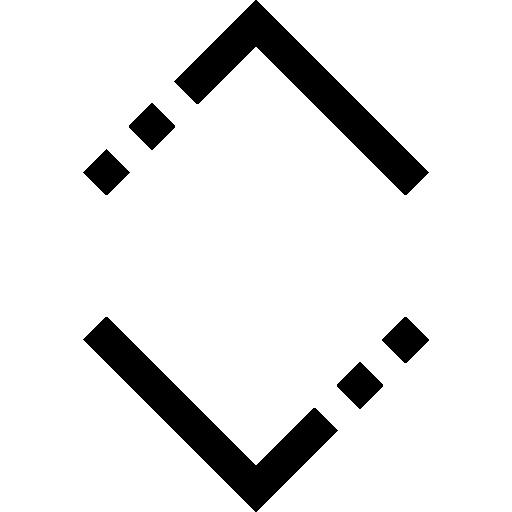 double flèche  Icône gratuit