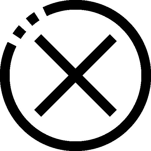 Отмена  бесплатно иконка