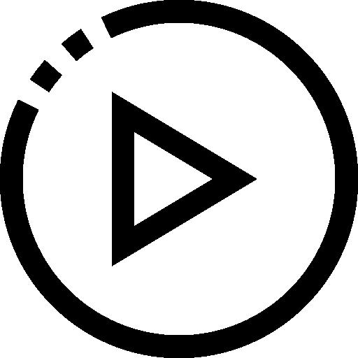 Кнопка воспроизведения  бесплатно иконка