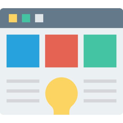 Webpage  free icon