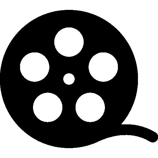 Movie roll  free icon