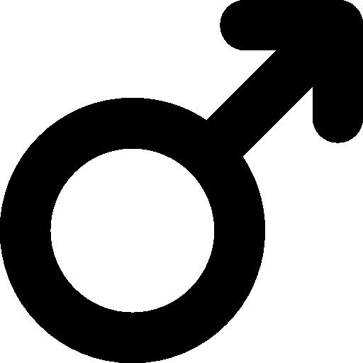 Male Symbol  free icon